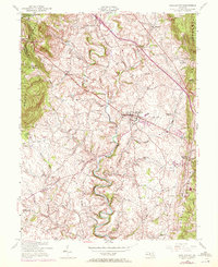 Download a high-resolution, GPS-compatible USGS topo map for Middletown, MD (1972 edition)