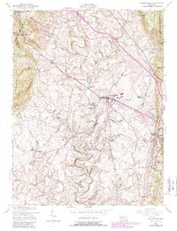 Download a high-resolution, GPS-compatible USGS topo map for Middletown, MD (1979 edition)
