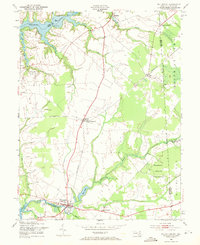 Download a high-resolution, GPS-compatible USGS topo map for Millington, MD (1971 edition)