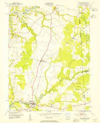 Download a high-resolution, GPS-compatible USGS topo map for Millington, MD (1955 edition)
