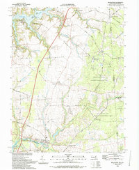 Download a high-resolution, GPS-compatible USGS topo map for Millington, MD (1993 edition)