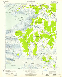 Download a high-resolution, GPS-compatible USGS topo map for Monie, MD (1958 edition)