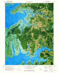 Download a high-resolution, GPS-compatible USGS topo map for Monie, MD (1975 edition)