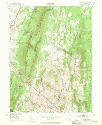 Download a high-resolution, GPS-compatible USGS topo map for Myersville, MD (1969 edition)