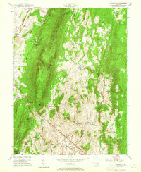 Download a high-resolution, GPS-compatible USGS topo map for Myersville, MD (1965 edition)