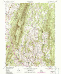 Download a high-resolution, GPS-compatible USGS topo map for Myersville, MD (1985 edition)
