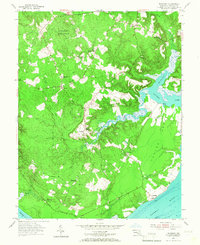 Download a high-resolution, GPS-compatible USGS topo map for Nanjemoy, MD (1967 edition)
