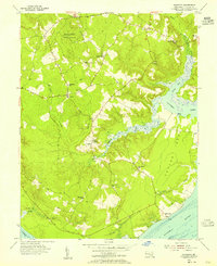 Download a high-resolution, GPS-compatible USGS topo map for Nanjemoy, MD (1955 edition)