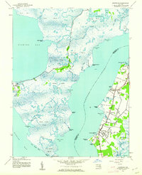 Download a high-resolution, GPS-compatible USGS topo map for Nanticoke, MD (1962 edition)