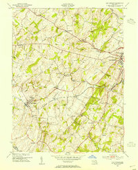 Download a high-resolution, GPS-compatible USGS topo map for New Windsor, MD (1954 edition)