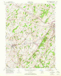 Download a high-resolution, GPS-compatible USGS topo map for New Windsor, MD (1972 edition)