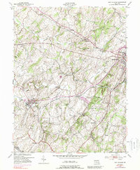 Download a high-resolution, GPS-compatible USGS topo map for New Windsor, MD (1989 edition)