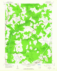 Download a high-resolution, GPS-compatible USGS topo map for Ninepin, MD (1962 edition)