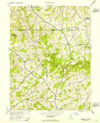 Download a high-resolution, GPS-compatible USGS topo map for Norrisville, MD (1953 edition)