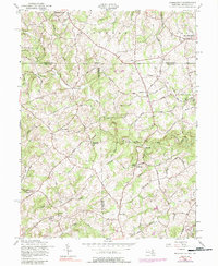 Download a high-resolution, GPS-compatible USGS topo map for Norrisville, MD (1988 edition)
