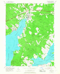 Download a high-resolution, GPS-compatible USGS topo map for North East, MD (1968 edition)