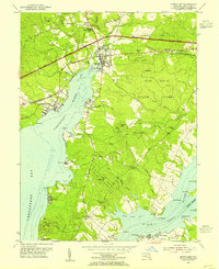 Download a high-resolution, GPS-compatible USGS topo map for North East, MD (1955 edition)