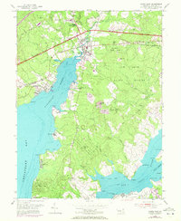 Download a high-resolution, GPS-compatible USGS topo map for North East, MD (1972 edition)