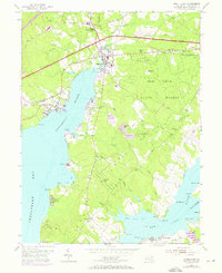 Download a high-resolution, GPS-compatible USGS topo map for North East, MD (1971 edition)