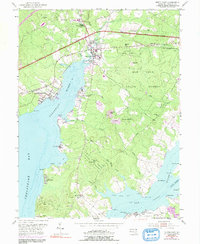 Download a high-resolution, GPS-compatible USGS topo map for North East, MD (1991 edition)