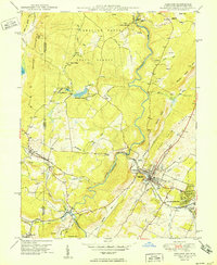 Download a high-resolution, GPS-compatible USGS topo map for Oakland, MD (1950 edition)