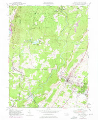 Download a high-resolution, GPS-compatible USGS topo map for Oakland, MD (1975 edition)