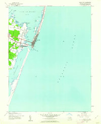 Download a high-resolution, GPS-compatible USGS topo map for Ocean City, MD (1962 edition)