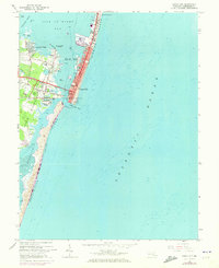 Download a high-resolution, GPS-compatible USGS topo map for Ocean City, MD (1973 edition)