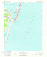 Download a high-resolution, GPS-compatible USGS topo map for Ocean City, MD (1978 edition)