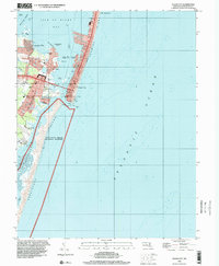 Download a high-resolution, GPS-compatible USGS topo map for Ocean City, MD (2000 edition)
