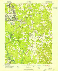 Download a high-resolution, GPS-compatible USGS topo map for Odenton, MD (1953 edition)