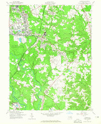 Download a high-resolution, GPS-compatible USGS topo map for Odenton, MD (1965 edition)