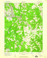 Download a high-resolution, GPS-compatible USGS topo map for Odenton, MD (1960 edition)