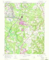 Download a high-resolution, GPS-compatible USGS topo map for Odenton, MD (1972 edition)