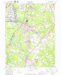 Download a high-resolution, GPS-compatible USGS topo map for Odenton, MD (1980 edition)