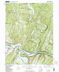 Download a high-resolution, GPS-compatible USGS topo map for Oldtown, MD (1999 edition)