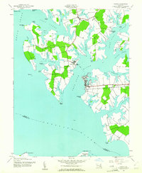 Download a high-resolution, GPS-compatible USGS topo map for Oxford, MD (1981 edition)