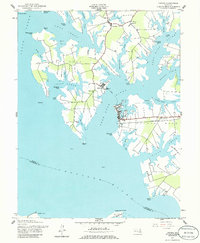 Download a high-resolution, GPS-compatible USGS topo map for Oxford, MD (1986 edition)
