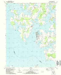Download a high-resolution, GPS-compatible USGS topo map for Oxford, MD (1988 edition)