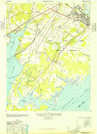 Download a high-resolution, GPS-compatible USGS topo map for Perryman, MD (1948 edition)