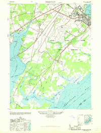Download a high-resolution, GPS-compatible USGS topo map for Perryman, MD (1968 edition)