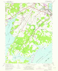Download a high-resolution, GPS-compatible USGS topo map for Perryman, MD (1976 edition)