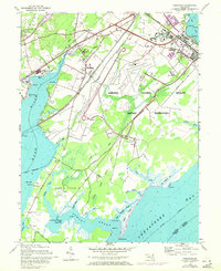 Download a high-resolution, GPS-compatible USGS topo map for Perryman, MD (1972 edition)