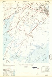 Download a high-resolution, GPS-compatible USGS topo map for Perryman, MD (1949 edition)