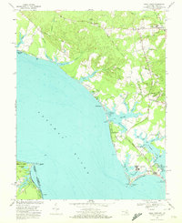 Download a high-resolution, GPS-compatible USGS topo map for Piney Point, MD (1972 edition)
