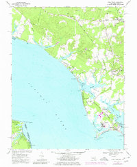 Download a high-resolution, GPS-compatible USGS topo map for Piney Point, MD (1980 edition)