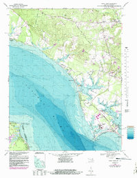 Download a high-resolution, GPS-compatible USGS topo map for Piney Point, MD (1988 edition)