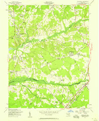 Download a high-resolution, GPS-compatible USGS topo map for Piscataway, MD (1958 edition)