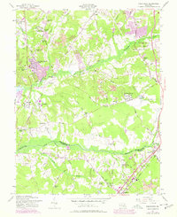 Download a high-resolution, GPS-compatible USGS topo map for Piscataway, MD (1978 edition)