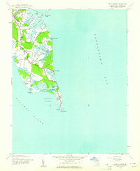 Download a high-resolution, GPS-compatible USGS topo map for Point Lookout, MD (1961 edition)